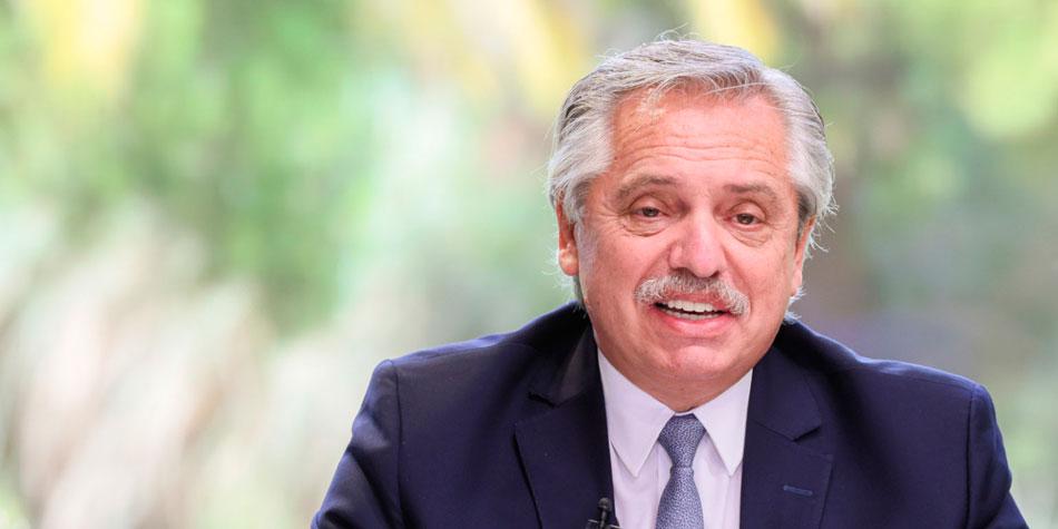 Alberto Fernández, presidente de la Nación Argentina [Foto: Casa Rosada].