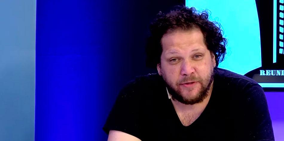 El Adm. Jonathan Landesman durante el programa de TV por cable Reunión de Consorcio del 13 de febrero.