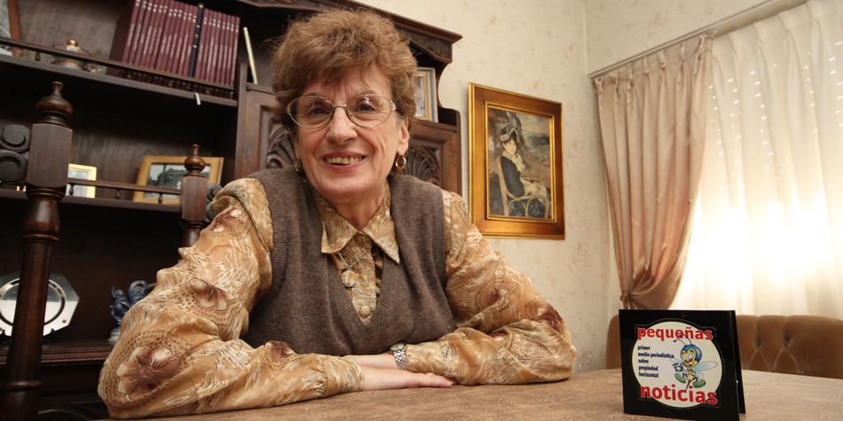 Ana María Huertas, presidenta de la Asociación de Consorcistas de Propiedad Horizontal de Mar del Plata [Foto archivo Pequeñas Noticias]