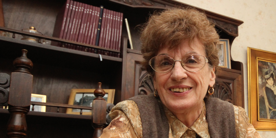Ana María Huertas, presidenta de ACoPH (Asociación Civil de Consorcistas de la Propiedad Horizontal) de Mar del Plata [Foto archivo de Pequeñas Noticias].
