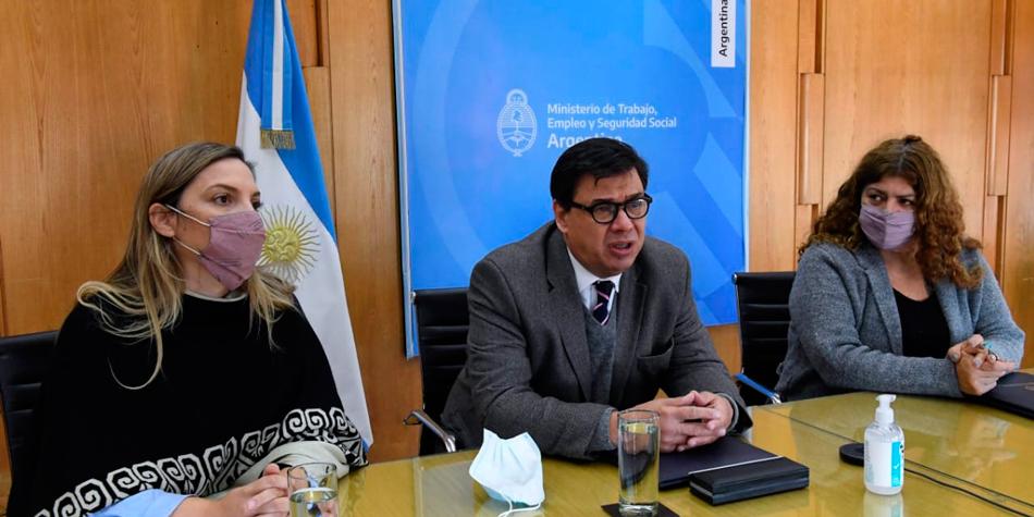 Claudio Omar Moroni, ministro de Trabajo, Empleo y Seguridad Social [Foto Ministerio de Trabajo, Empleo y Seguridad Social]