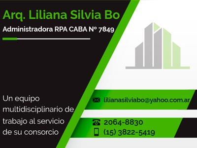 Administración Liliana Silvia Bo