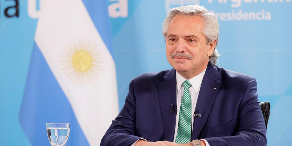 Alberto Fernández, presidente de la Nación [Foto Casa Rosada].