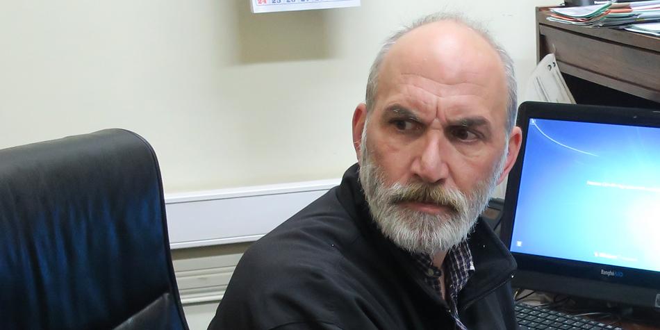 Andrés Zulberti, coordinador de la Comisión de Consorcios de la Comuna 3 [Foto archivo de Pequeñas Noticias]