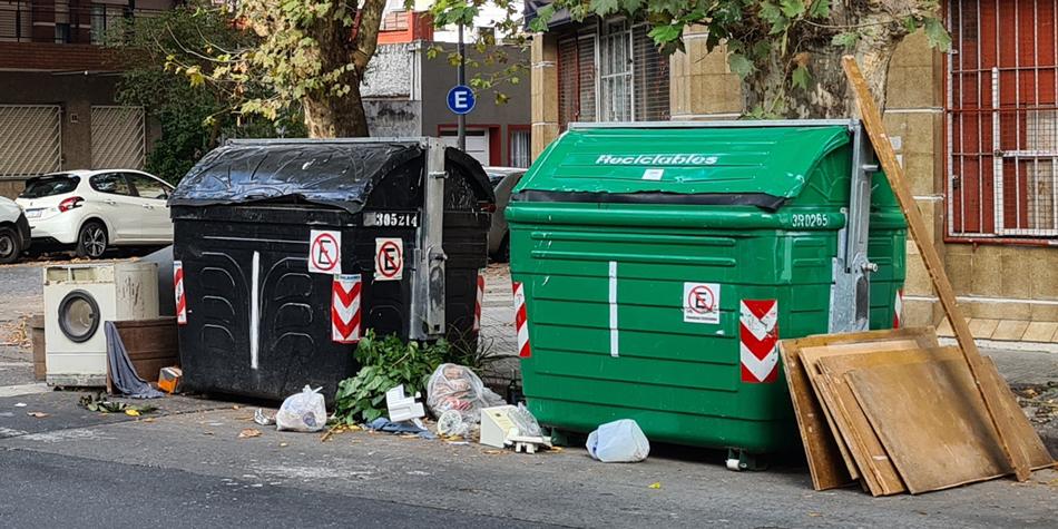 La esquina de Gral. Cesar Díaz y Condarco en la Comuna 11 [Foto Pequeñas Noticias]