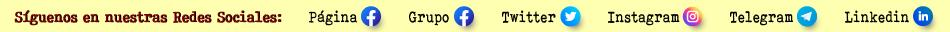 Vínculos a nuestras redes sociales