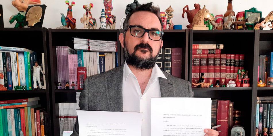 Dr. Juan Pablo Chiesa, precandidato de Aptitud Renovadora por la CABA [Foto Twitter]