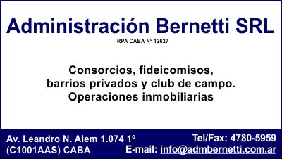 Administración Bernetti