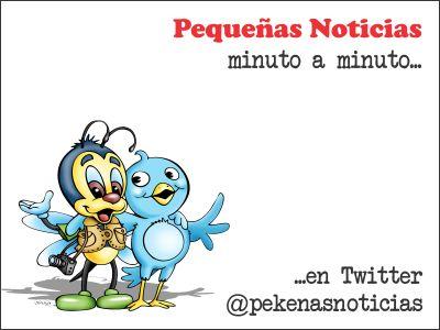 Pequeñas Noticias minuto a minuto en Twitter.
