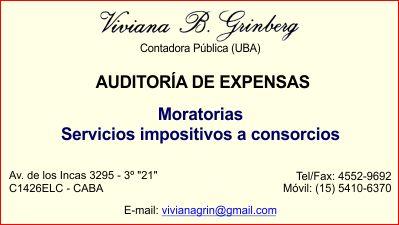 Cra. Viviana Grinberg