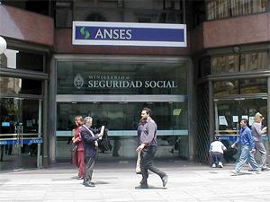 Fachada de la Sede Central de ANSES - Av. Córdoba 720, Ciudad de Buenos Aires.