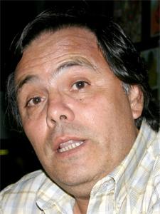 """Sr. Jorge """"Nebbia"""" Miño, socio fundador de la Agrupación 20 de Diciembre."""