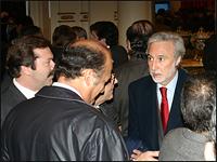 El Sr. Hugo Menella, presidente de la Cámara Inmobiliaria Argentina.