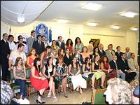 Los alumnos recibidos durante el 2006.