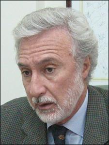 Sr. Hugo Menella, presidente de la Cámara Inmobiliaria Argentina.