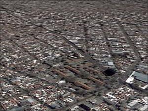 Vista Aérea de la Ciudad Autónoma de Buenos Aires.
