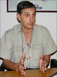 Ing. Alfredo L�pez Catt�neo, especialista en medicina laboral, higiene y seguridad.