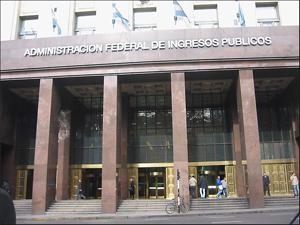 Sede de la AFIP frente a Plaza de Mayo