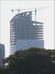 El primer trimestre de este año la construcción creció casi un 50% con respecto al mismo período del año pasado.