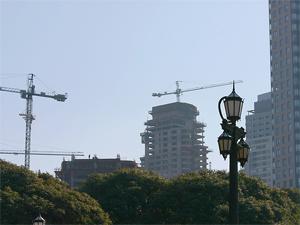 Esta año, en Caballito, comenzó con una fuerte caída en la cantidad de metros autorizados.