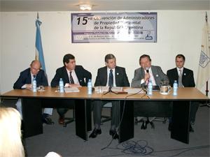 Las cinco entidades que representan administradores en la Federación Argentina de Municipios.