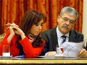 Cristina Fernández y Julio De Vido - Foto de archivo de Presidencia de la Nación.