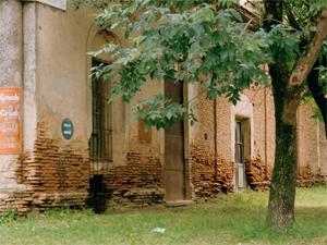 El concepto de ruina debe aplicarse también para los casos en que haya amenazada de derrumbe en el lugar.
