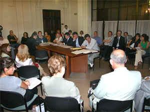 Del encuentro participaron entidades de consorcistas, legisladores, representantes del Consejo Profesional de Ciencias Econ�micas y vecinos.