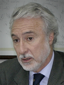 Hugo Mennella, el primer presidente de CUCICBA.
