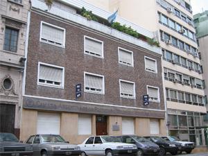 Sede de la Cámara Argentina de Propiedad Horizontal y Actividades Inmobiliarias en Perú 570 en la CABA.