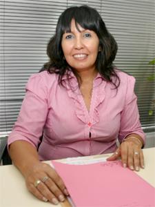 Mercedes García, presidenta de ADEPROH.