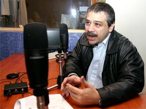 """El Leg. Sergio Abrevaya en el programa """"Hablemos de Consorcios"""" en agosto de 2009."""