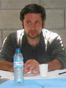 Victor Santa María, presidente del Centro Cultural Caras y Caretas.