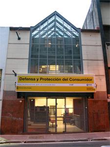 Nueva sede de Defensa del Consumidor en Moreno 1170 de esta ciudad.