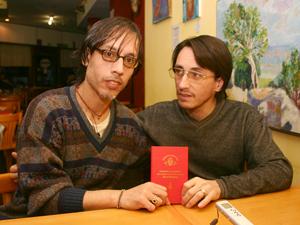 Leonardo Miguel de Santo y Diego de Jesús Arias.