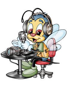La abejita consorcial volvió a la radio.