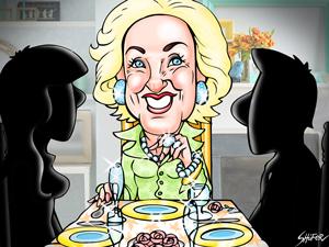 Mirtha Legrand dedicó su almuerzo a los problemas en los consorcios.