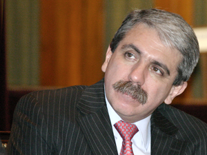 Aníbal Fernández, jefe de Gabinete Nacional.