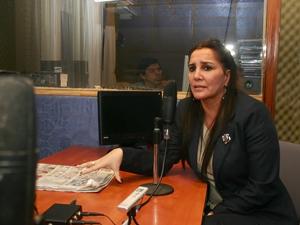 """Gabriela Pilar Saldivia en """"Derecho de Piso""""."""