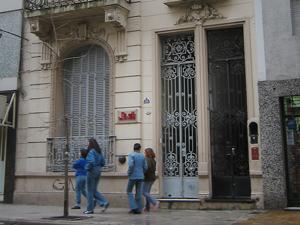 Sede del AIERH en la calle Moreno 1881 de la CABA.