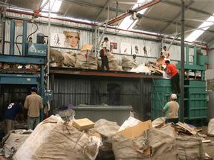 La mayoría de las máquinas de trabajo fueron donadas.
