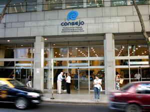 Sede del Consejo Profesional de Ciencias Económicas.