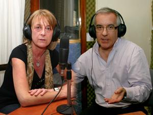 Ricardo González y Marcela López, presidente y directora de contenidos del sitio Información Profesional Sistematizada (IPS).