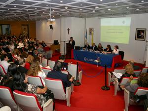 Mauricio Macri se había comprometido a inaugurar este 1º Congreso pero se informó que por compromisos de último momento no pudo asistir.