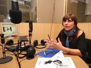 María Cabrejas, integrante de los vecinos  autoconvocados del Pasaje Grandville.