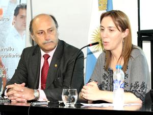 Néstor Wallenten y María Eugenia Vidal.
