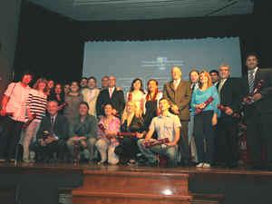 Los egresados 2011 de la Diplomatura.