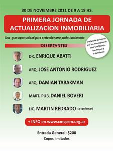 Queda por confirmar si durante la jornada disertará el Lic. Martín Redrado.