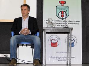 Lic. Martín Redrado.