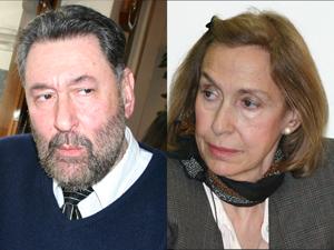 El Dr. Osvaldo Loisi y la Sra. Alicia Giménez.